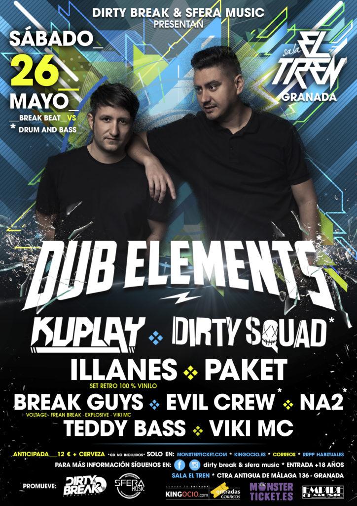 Dub Elements @ Sala El Tren