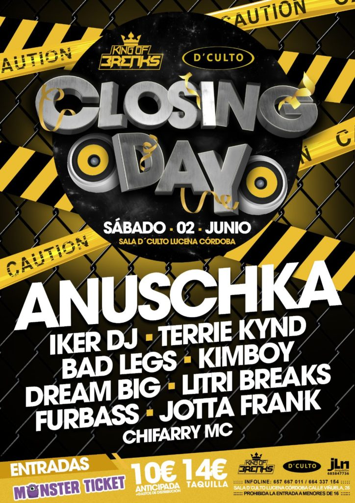 Closing Day DCulto
