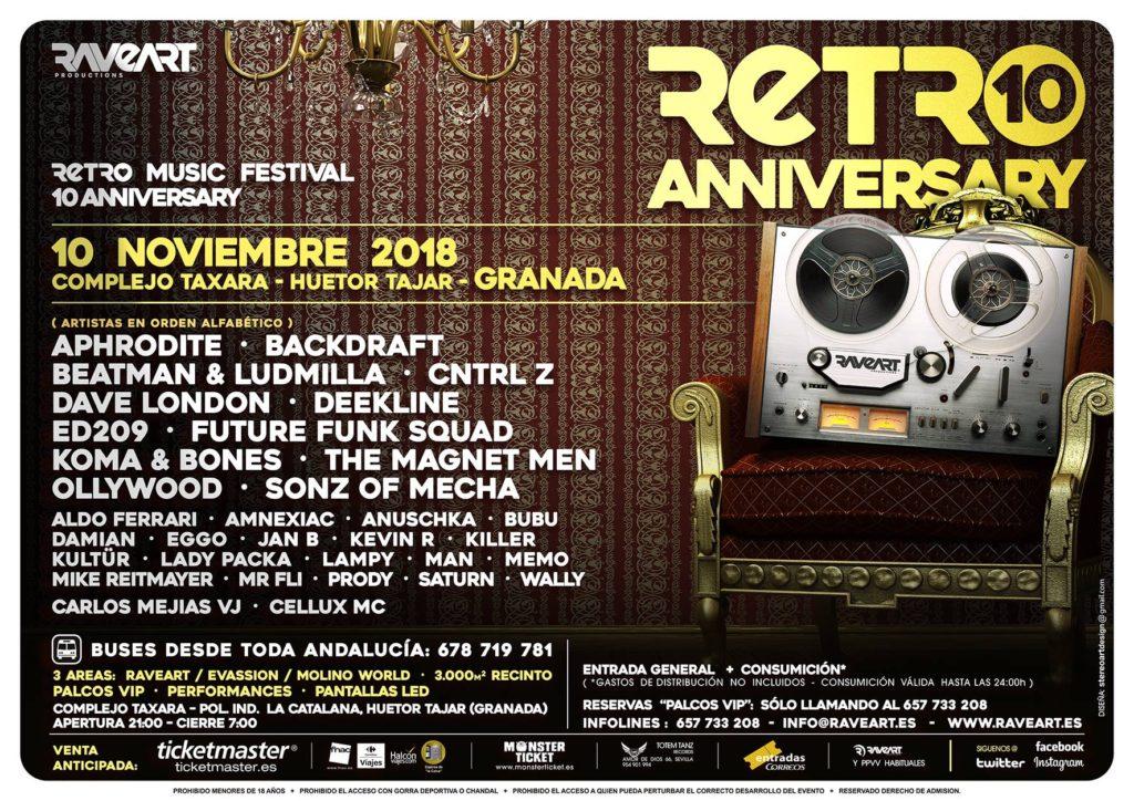Retro Music Festival 2018