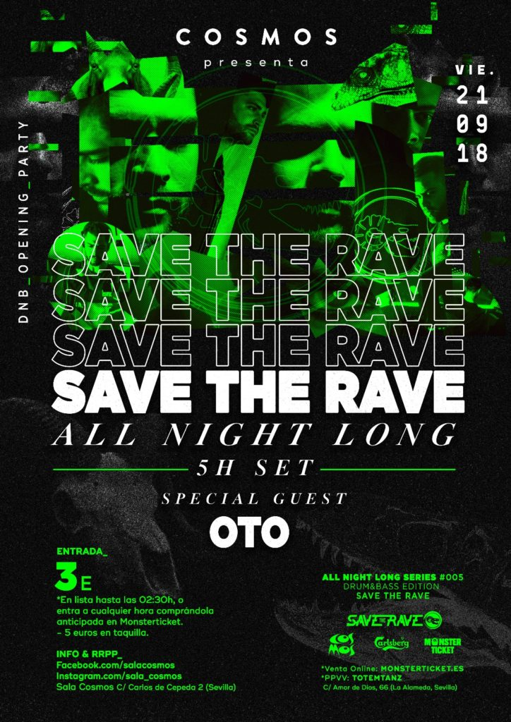 Save The Rave - All Night Long