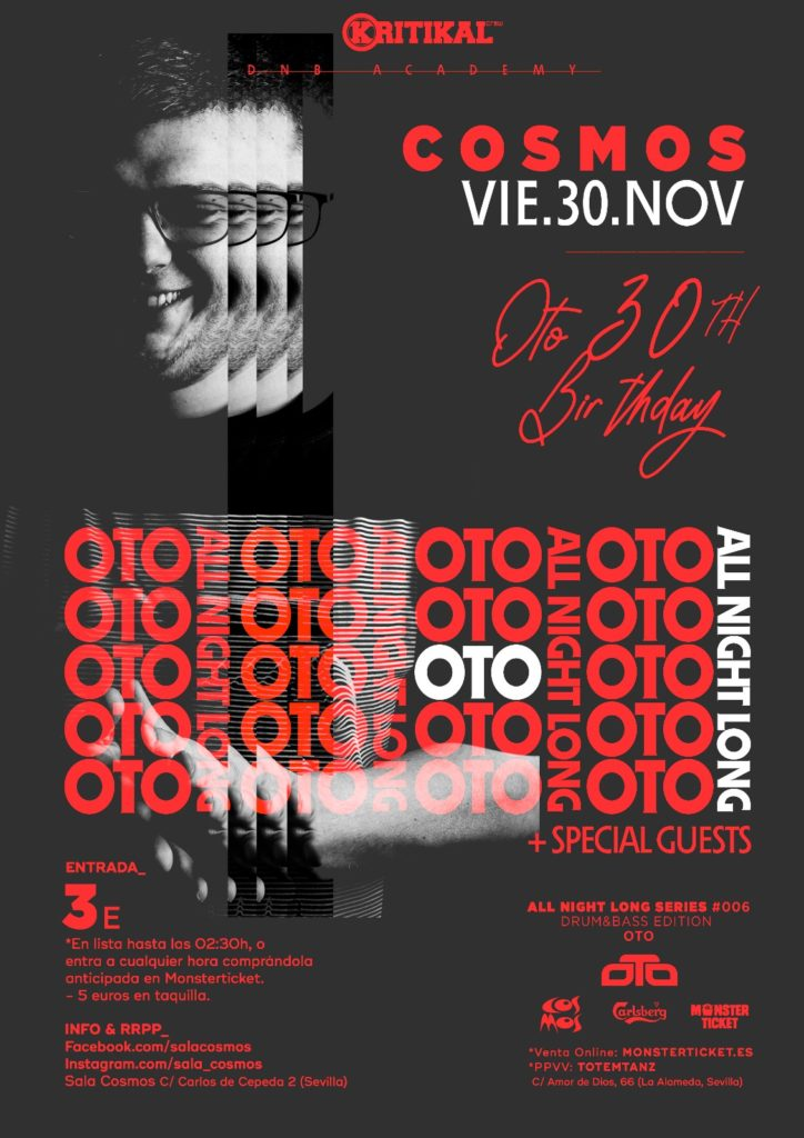 OTO 30th Birthday - All Night Long @ Cosmos
