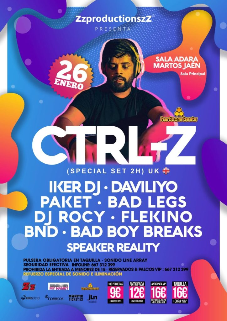 zzprooductionszz presenta Ctrl Z