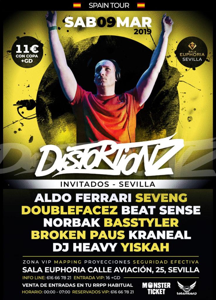 Distortionz en Sevilla