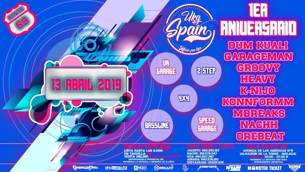 1er Aniversario UKG Spain
