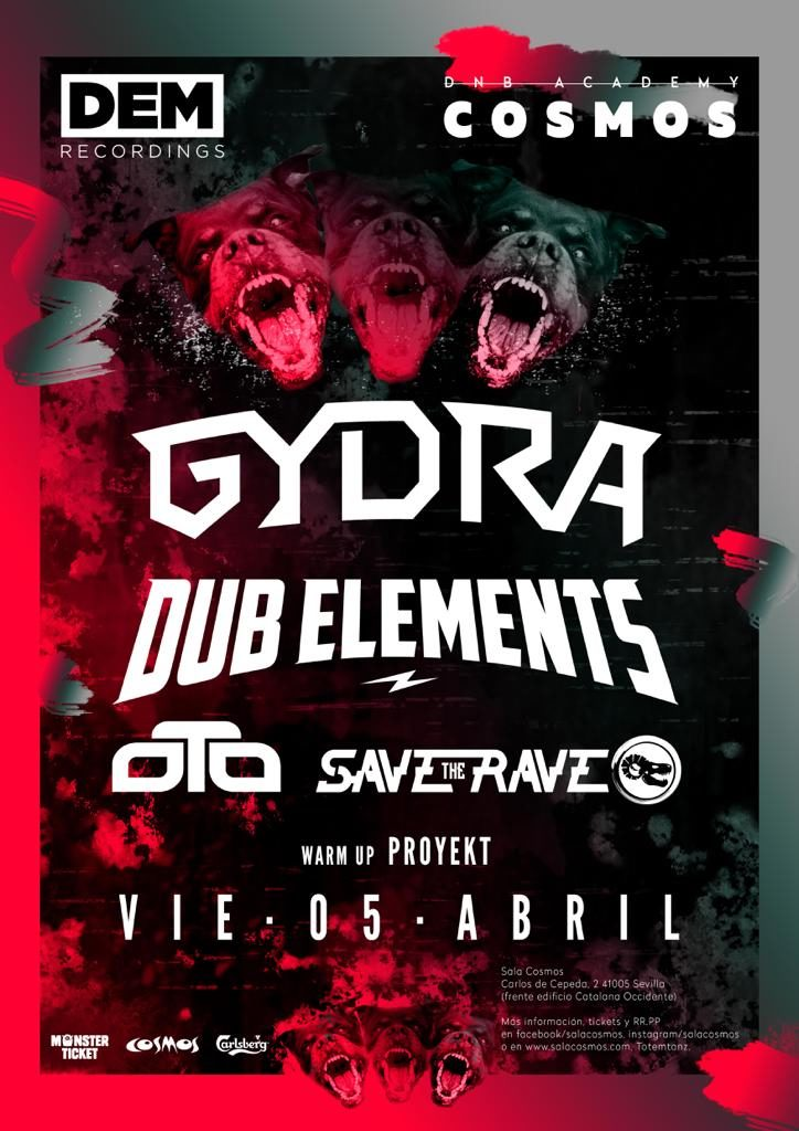 DEM Presenta GYDRA & Dub Elements
