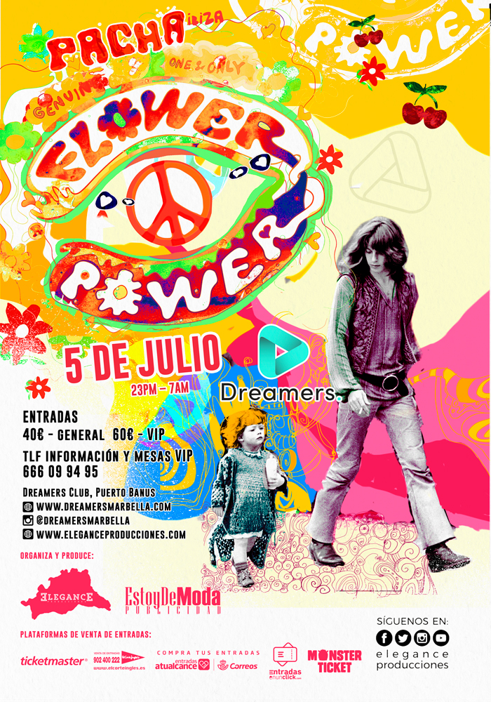 Flower Power en Dreamers Marbella
