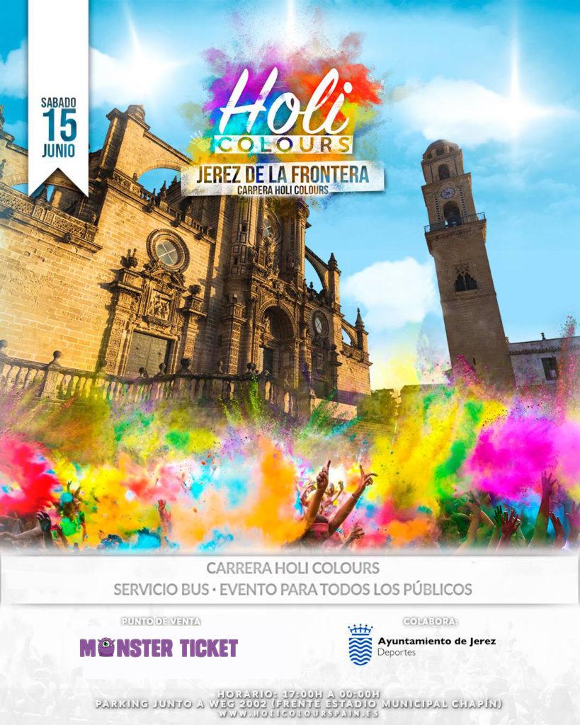 Holi Colours - Jerez de la Frontera