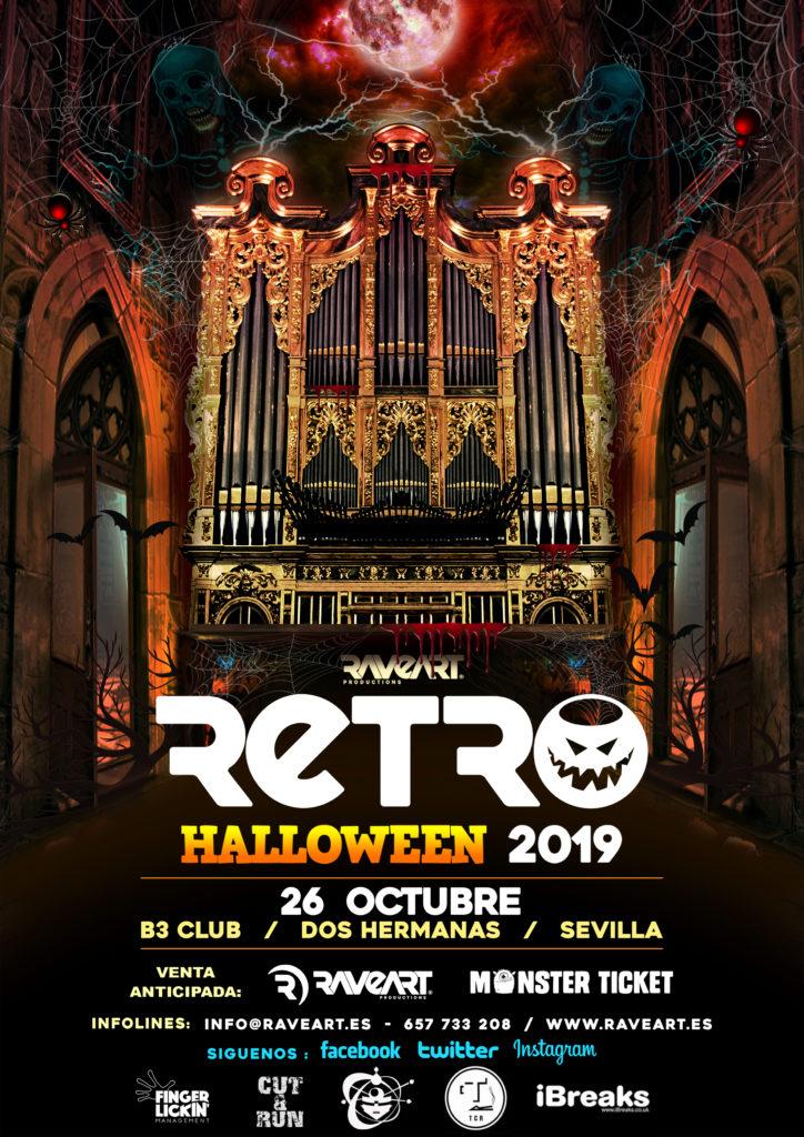 Retro Halloween 2019