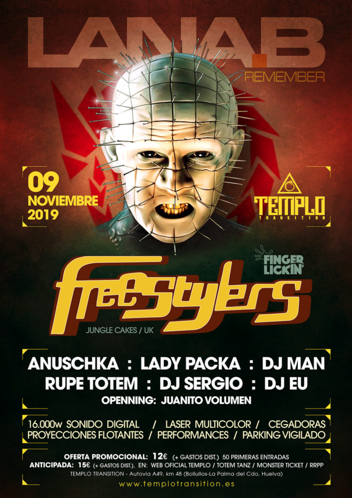 Lanab Remember con The Freestylers