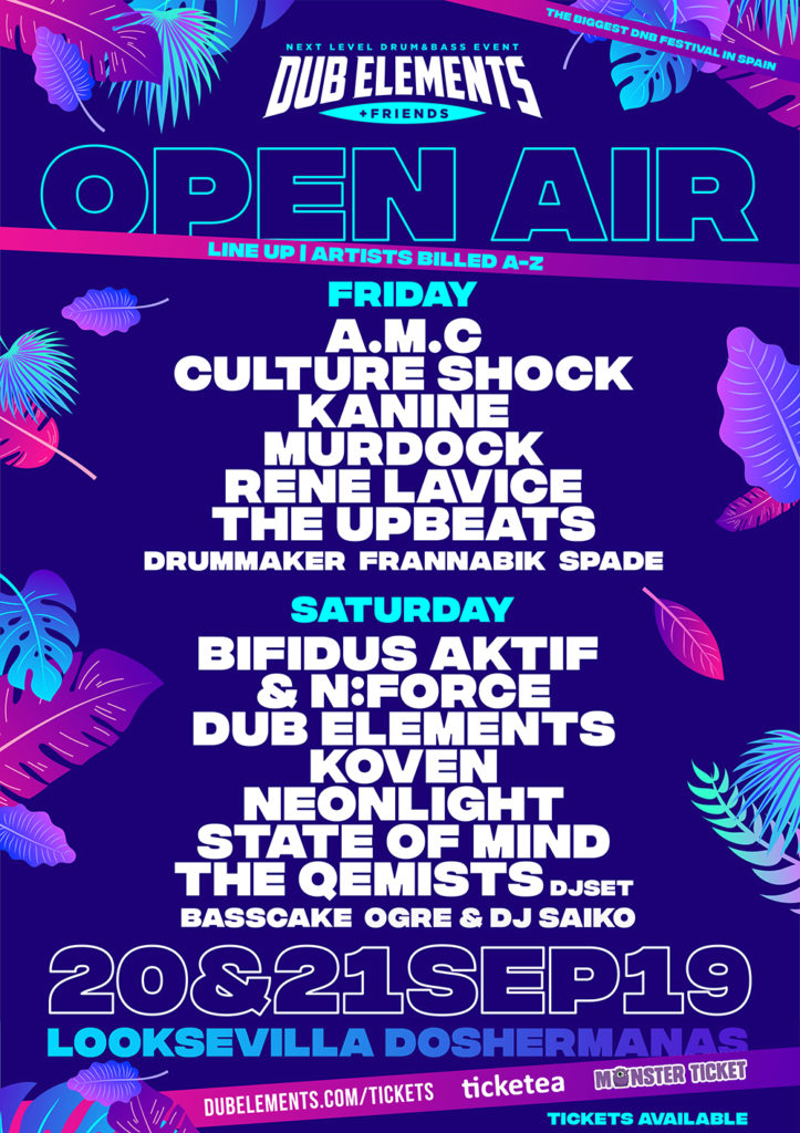 Dub Elements & Friends 2019 - Open Air Festival