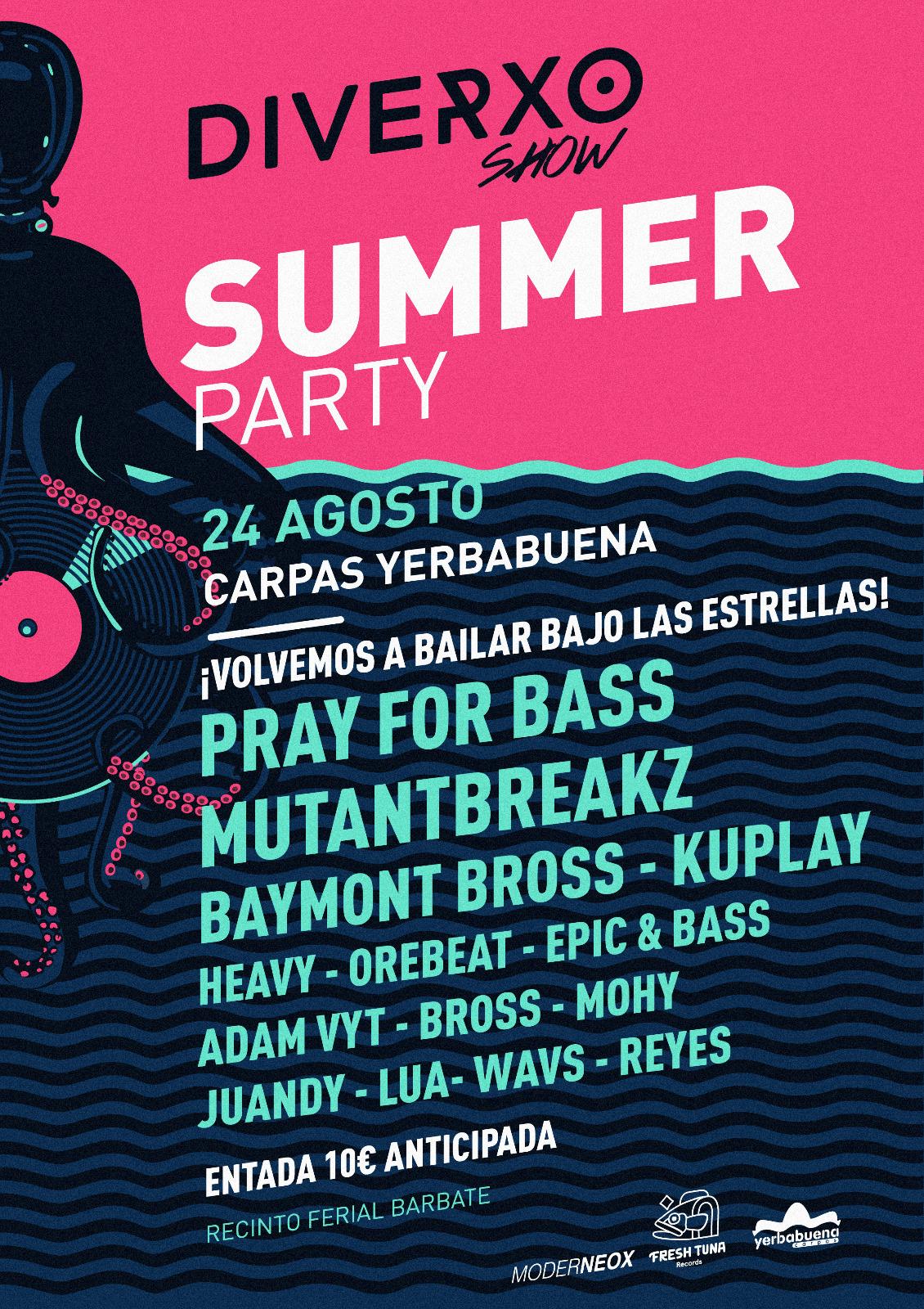 Summer Party @ Carpas Yerbabuena
