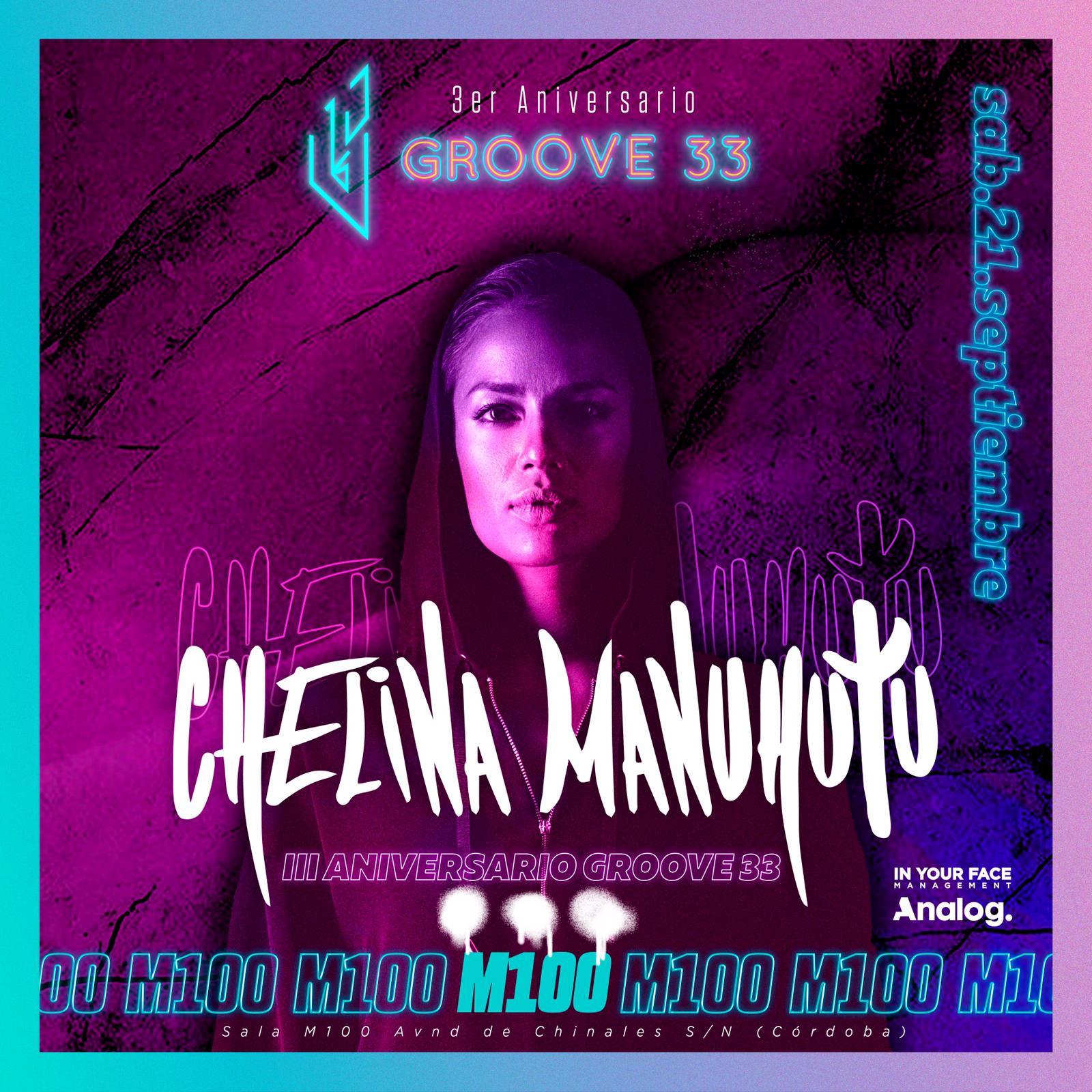 3º Aniversario Groove 33 - Chelina Manuhutu