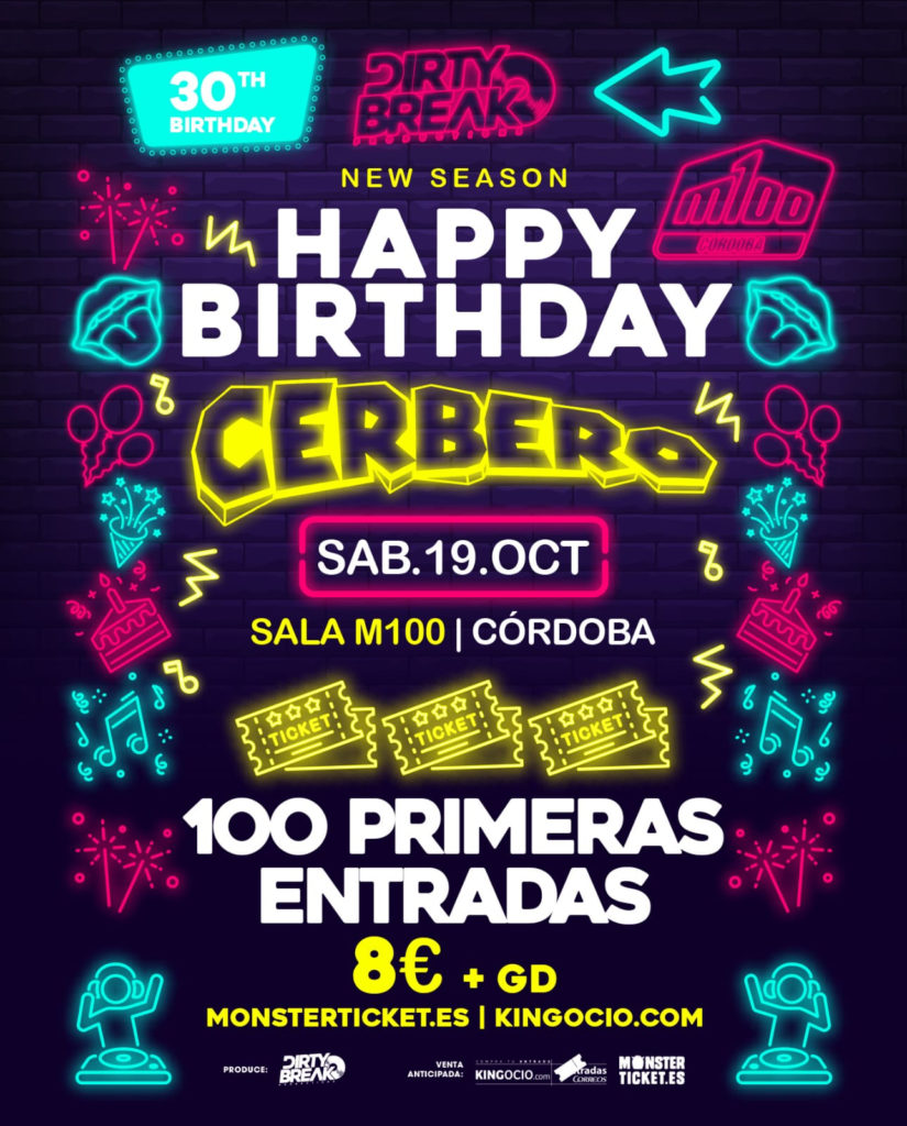 Happy Birthday Cerbero