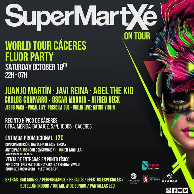 SuperMartxe On Tour - Fluor Party