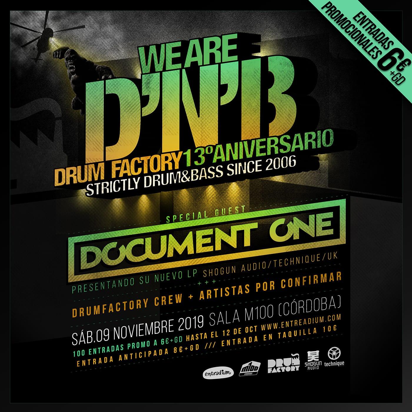 We Are DNB - Drum Factory 13ºAniversario