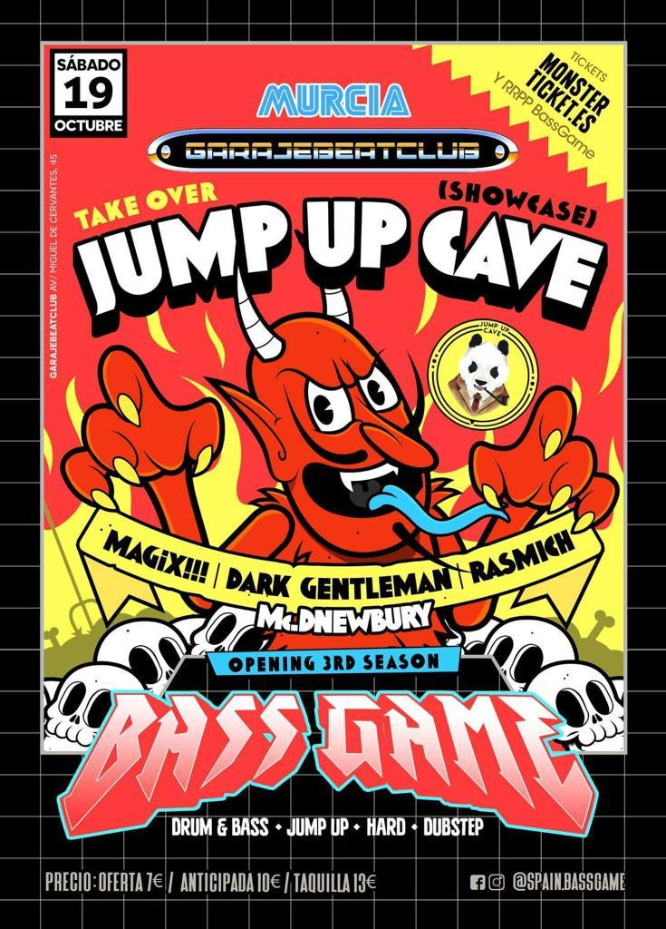 Jump Up Cave @ BassGame