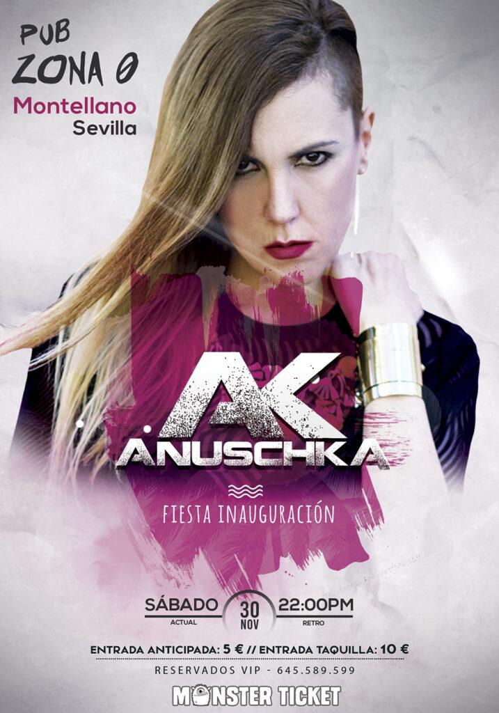 Fiesta Inauguración con Anuschka