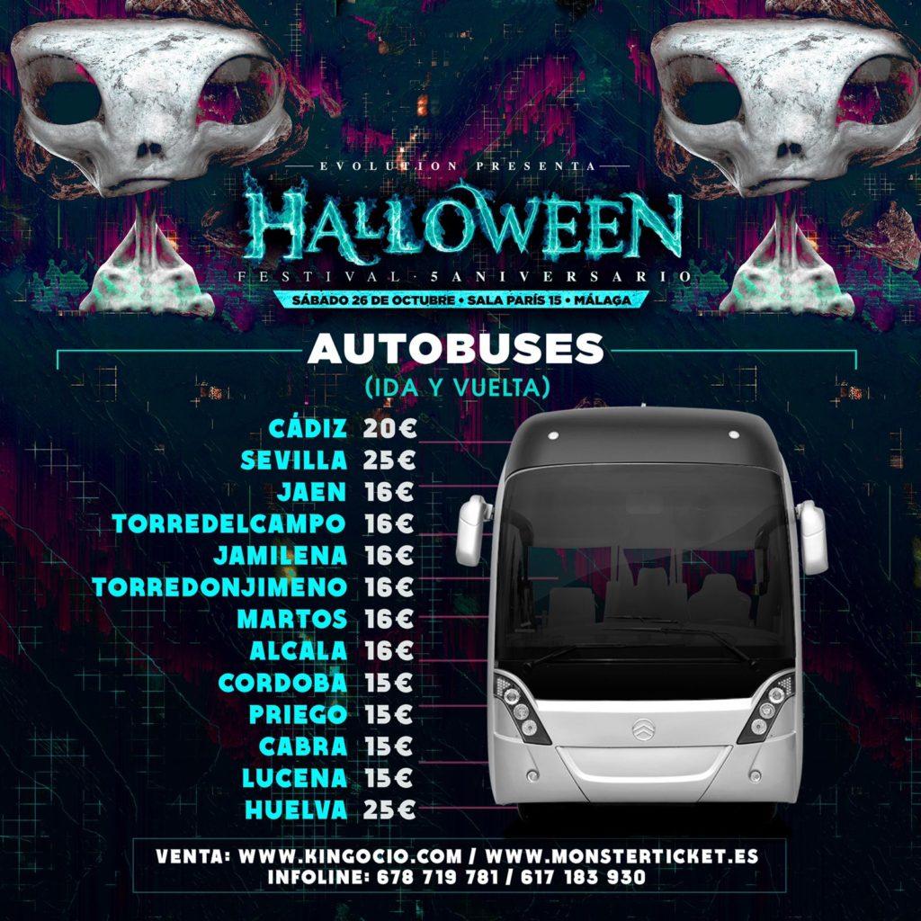 Bus Halloween 2019