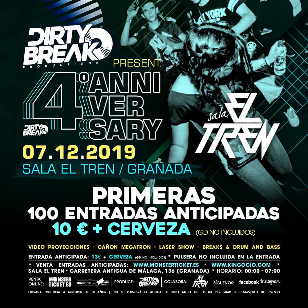 4º Anniversary - Dirty Break