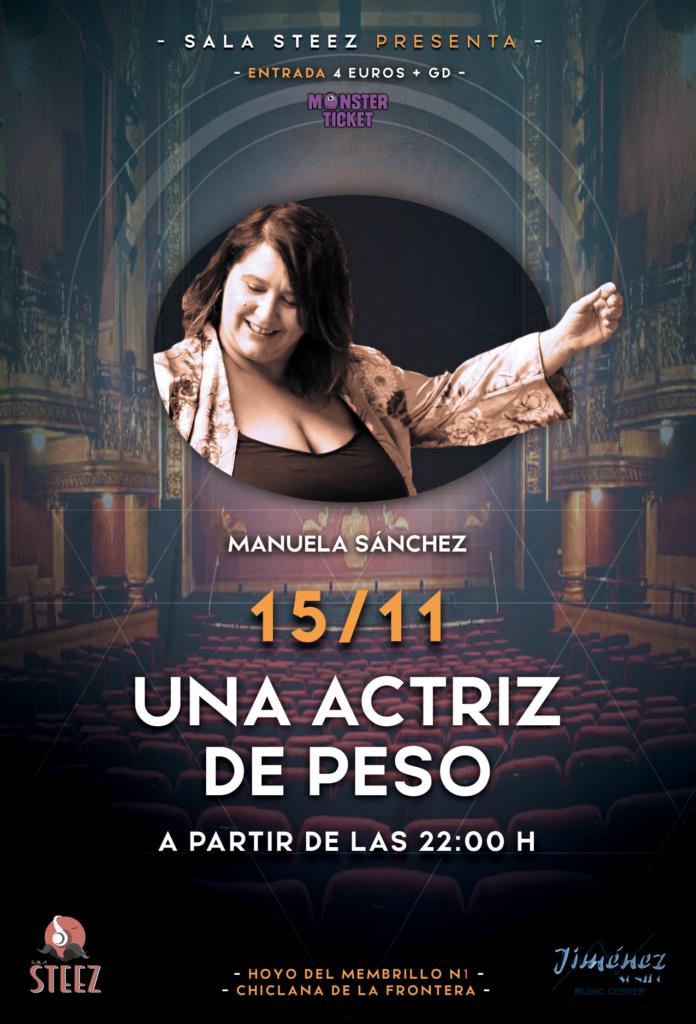 Una Actriz de Peso - Manuela Sánchez