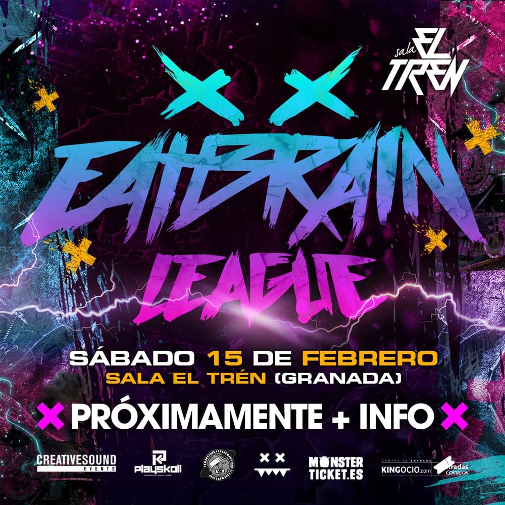Eatbrain League // Sala El Tren