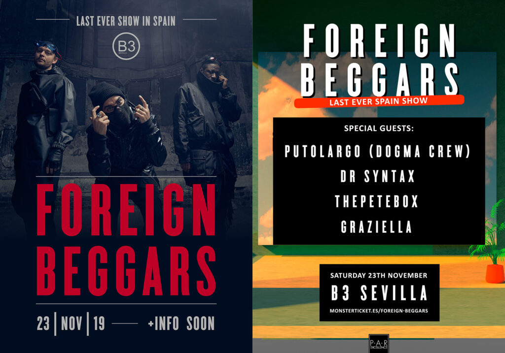 Foreign Beggars - Last Ever Show in Spain