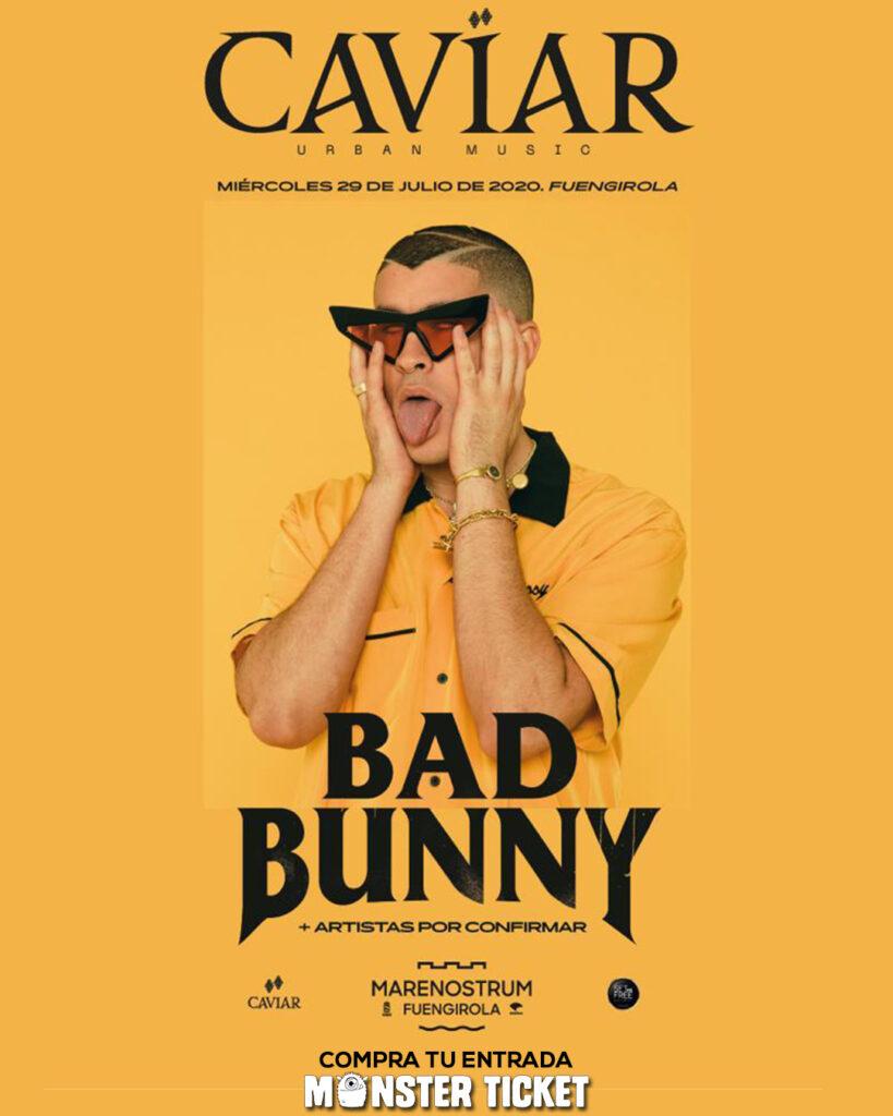 Bad Bunny Marenostrum - Caviar Urban Music