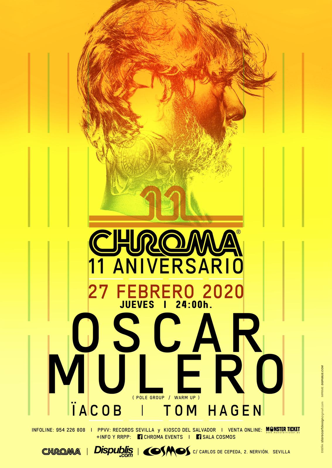 Oscar Mulero // Cosmos