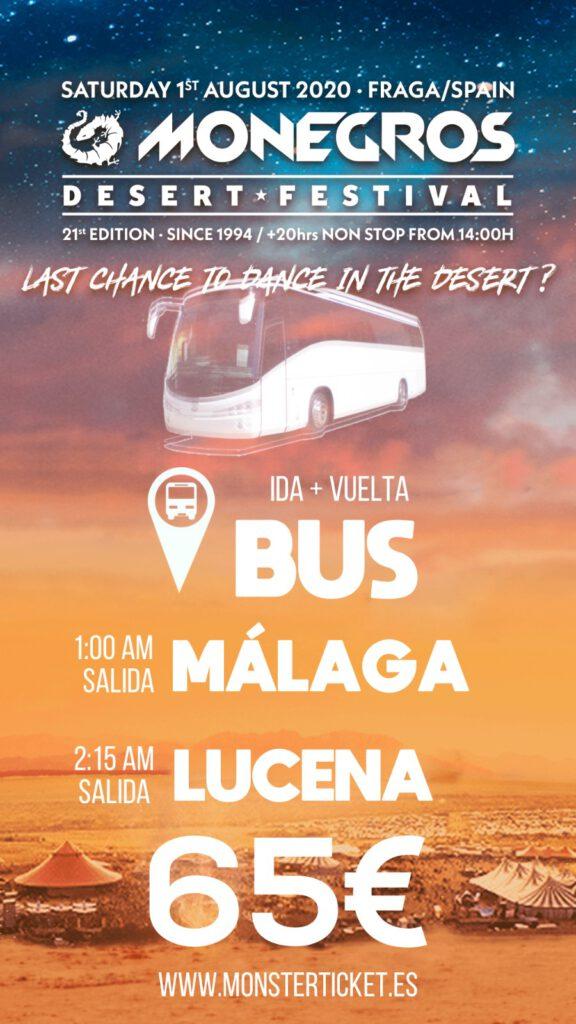 Bus Monegros 2020