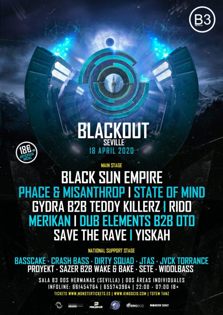 Blackout Seville