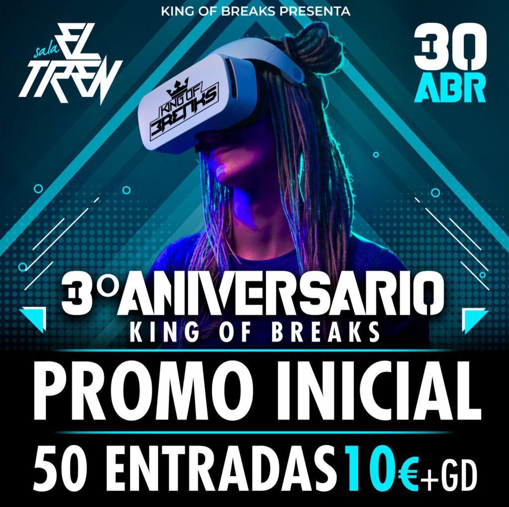 3er Aniversario King Of Breaks