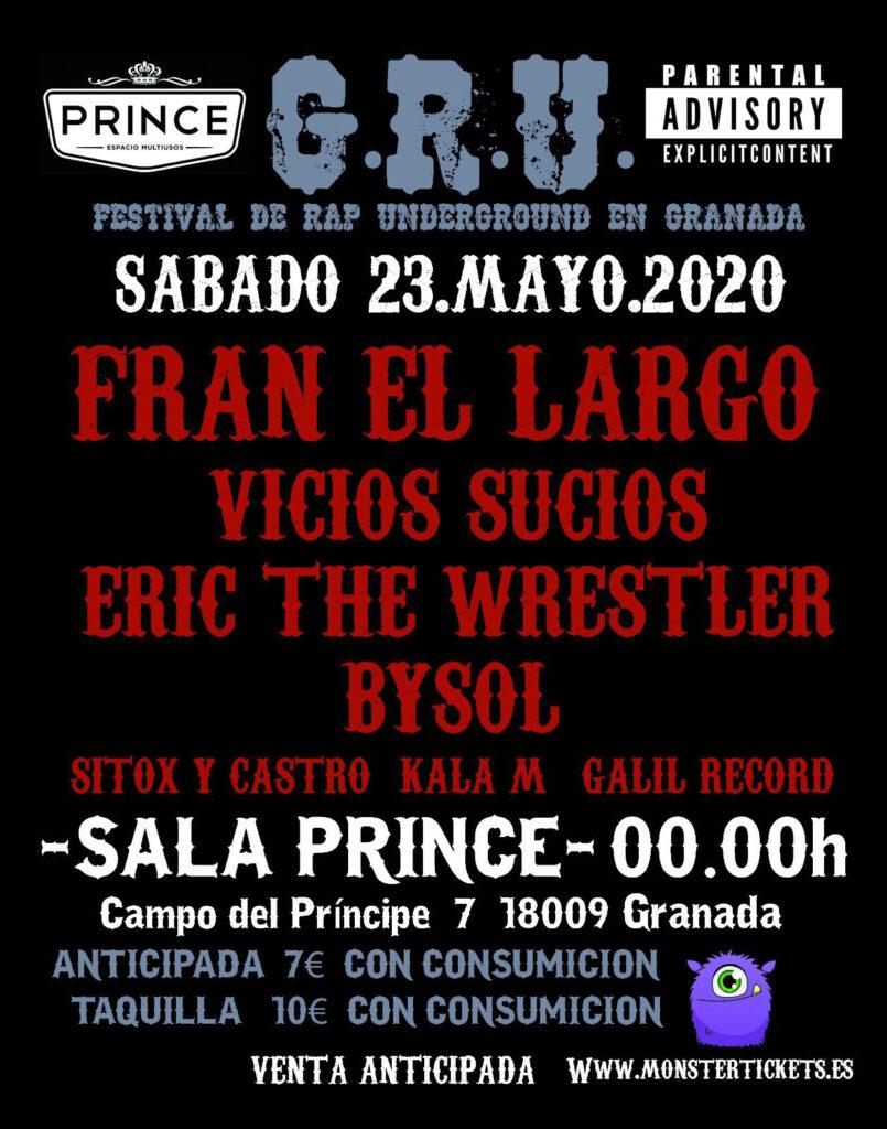 Gru - Festival de Rap Underground de Granada