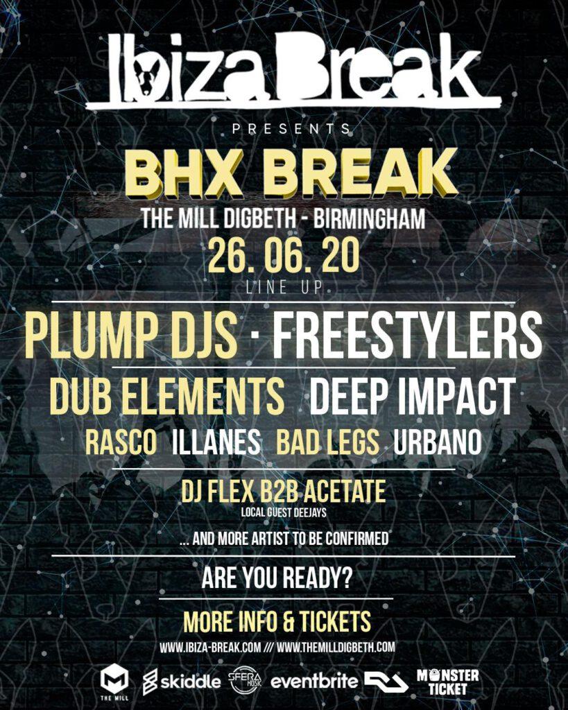 Ibiza Break presents Bhx Break