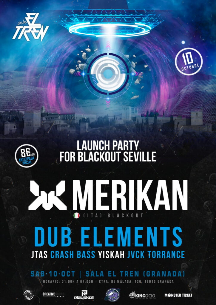 Blackout Launch Party w/ Merikan