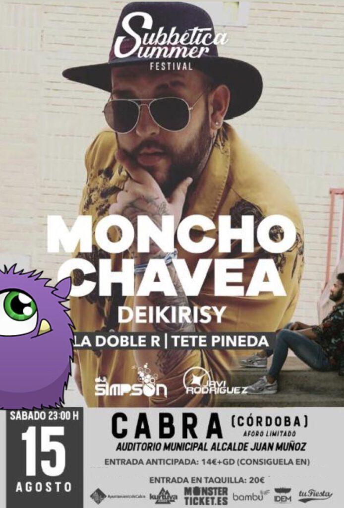 Subbetica Summer Festival con Moncho Chavea