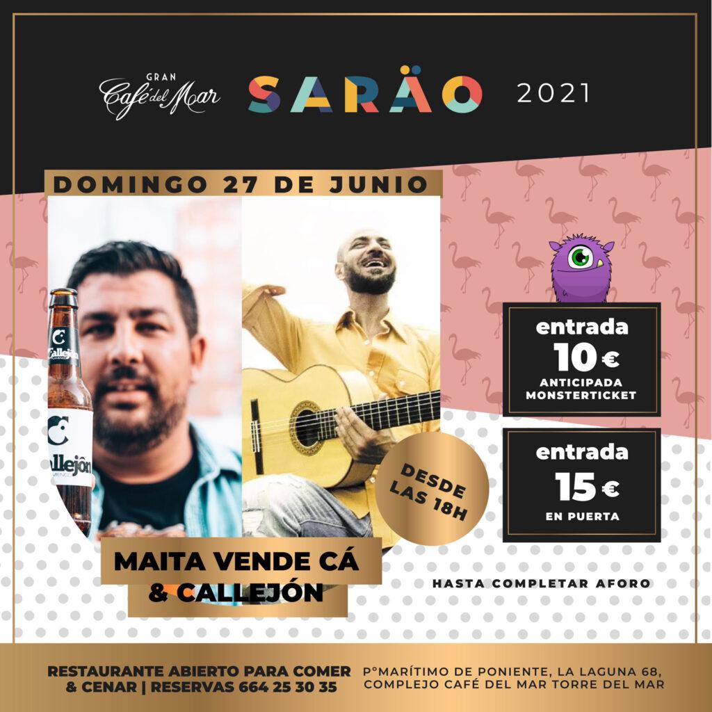 Maita Vende Cá y Callejón en El Sarao de Café del Mar