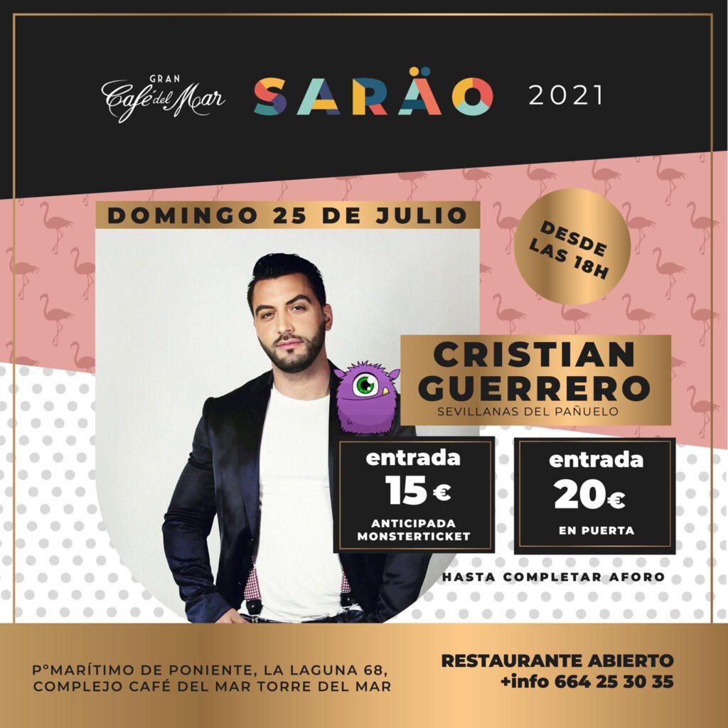 Cristian Guerrero en El Sarao de Café del Mar