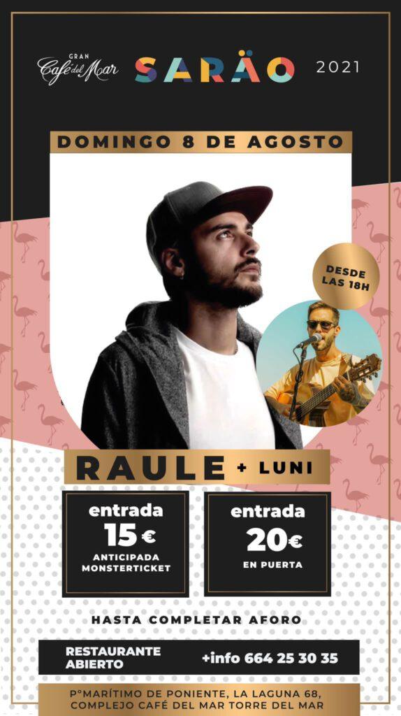 Raúle + Luni en El Sarao de Café del Mar